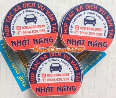 Logo Nam châm dẻo dán xe vận tải Nhật Năng
